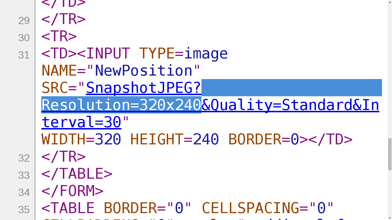 Recommend using validation  a  Resolution   All webcam should set a  resolution and. BIG BROTHER EXPLOITS  Exposed Cameras    Doxsec